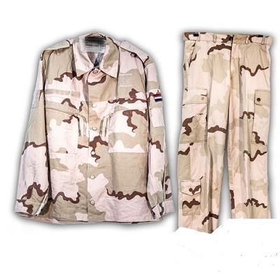 NL BDU Set Desert broek en jas origineel gebruikt !