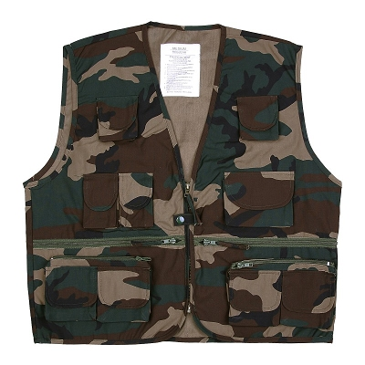 Outdoor vliegvisvest Tropical vest Woodland