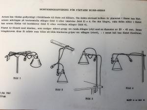 Retro Legerlamp M-1943 origineel item...