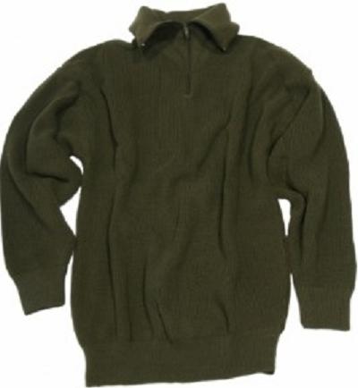 Schippers trui groen