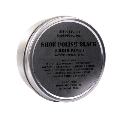 Schoensmeer Army zwart blik 150 ml