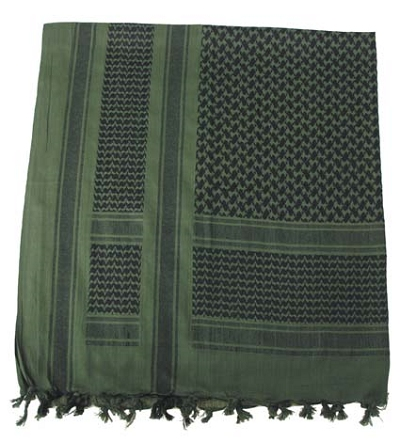 Shemag - PLO sjaal olive-black
