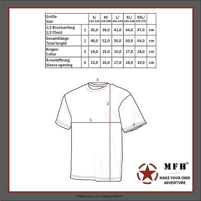 T-shirt Junior Camouflage Flecktarn