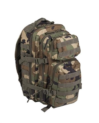 US Assaultpack rugzak Molle Woodland   40 L