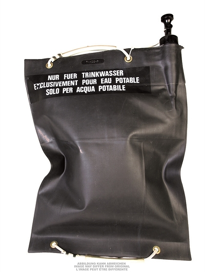 Waterzak, origineel Zwitsers 20 liter oerdegelijk !!!