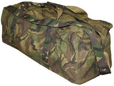 Weekendtas Leger groot In NL Camouflage