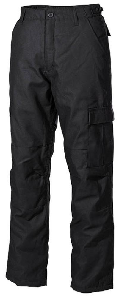 Winter broek Zwart, gevoerd