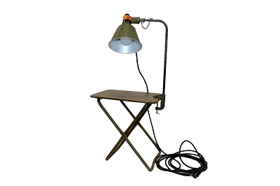 Vintage  Legerlamp origineel item M-1943