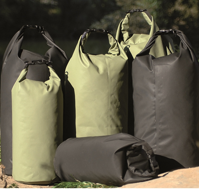 Transportzak Drybag olive groot 50 liter