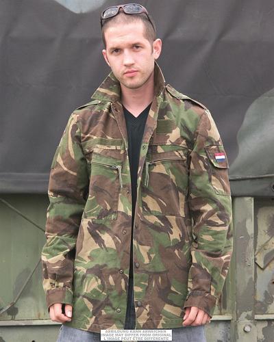 NL BDU Set broek en jas origineel Nieuw !