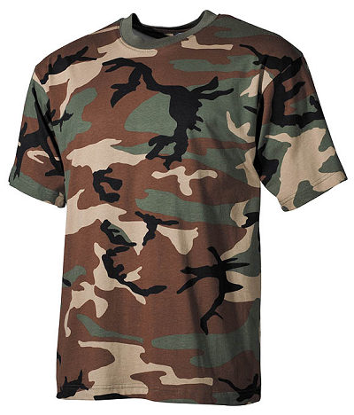 US T-shirt Woodland