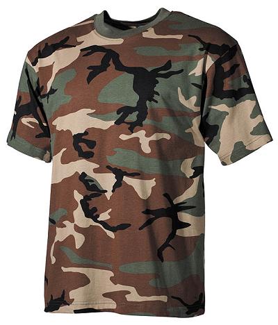 US T-shirt Woodland