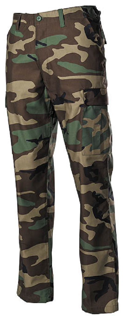 US BDU leger broek Woodland