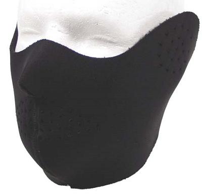 Mond beschermingsmasker Neopreen Airsoft,  Zwart