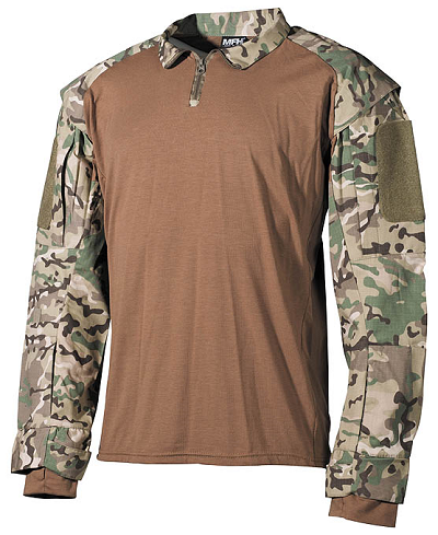 US Tactical Combat  shirt Multicam Operation camo