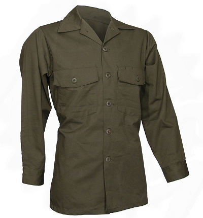 US Army BDU shirt DG-507 Dura Press