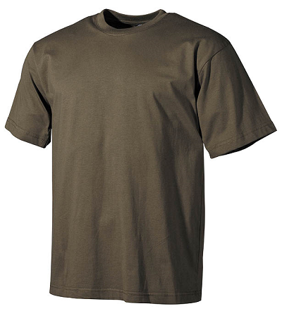 US Leger T-shirt Olive Top kwaliteit !