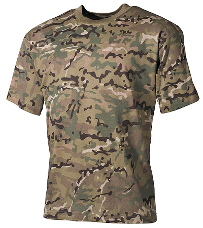 US Leger T-shirt Multicam Operation-camo