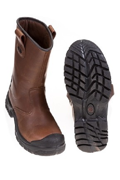 Veiligheidslaarzen S3 Bruin