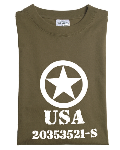 Leger T-shirt Allied Star