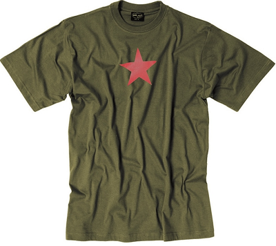 Leger T-shirt Red Star