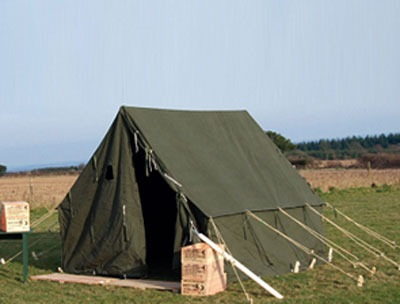 US small wall tent  Olive Drab