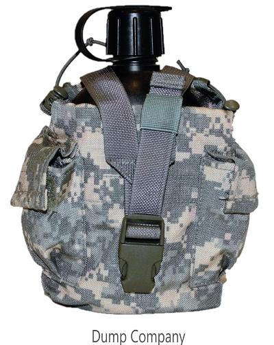 Veldfles leger, zwart US AT Digital