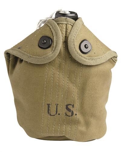 US WO II veldfleshoesje model M10 khaki