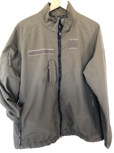 Softshell leger Defensie olive