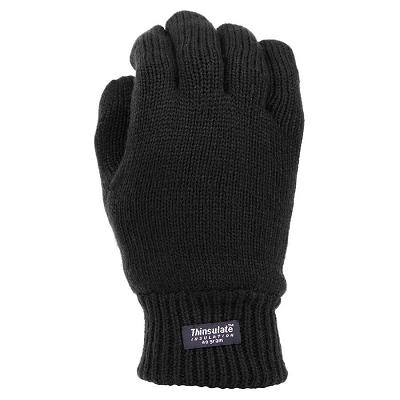Thinsulate handschoenen black