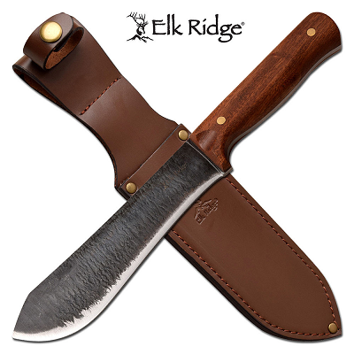 Elk Ridge Bushcraft Cherrywood Long