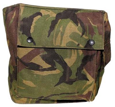 Gasmaskertas NL leger camouflage