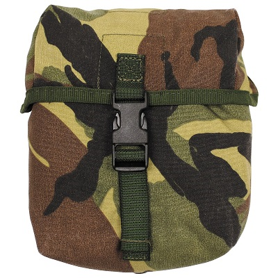 Opbouwtas MIDDEL NL DPM camouflage Molle