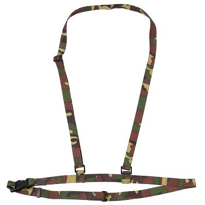 Draagriem gasmasker nl camouflage