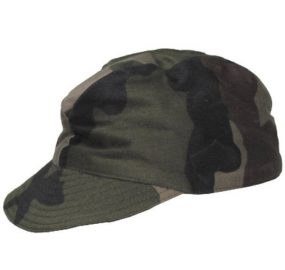 Veldpet Frans camouflage