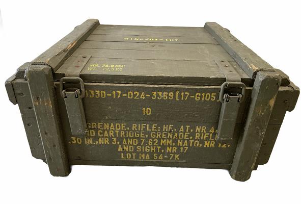 Legerkist hout Grenade Rifle .30