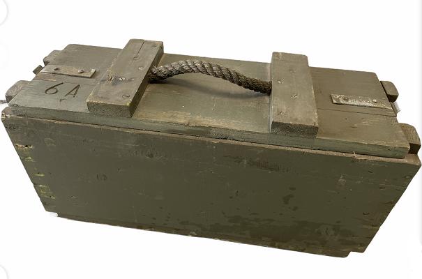 Legerkist hout 6 A Ammo