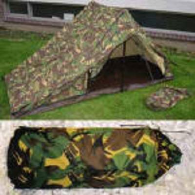 2 persoons Franse leger tent groen   Tenten   Military