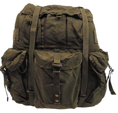 US Medium Alice pack met frame