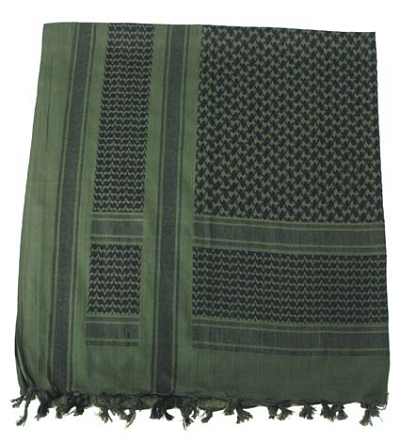 Shemag - PLO sjaal olive-black