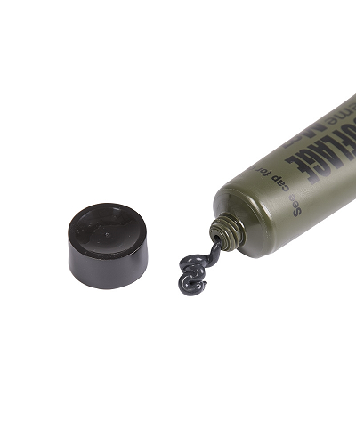 Nato camo make up tube in bruin en groen of zwart